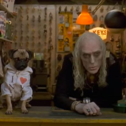Frank le pug de Men in Black interprété par Mushu